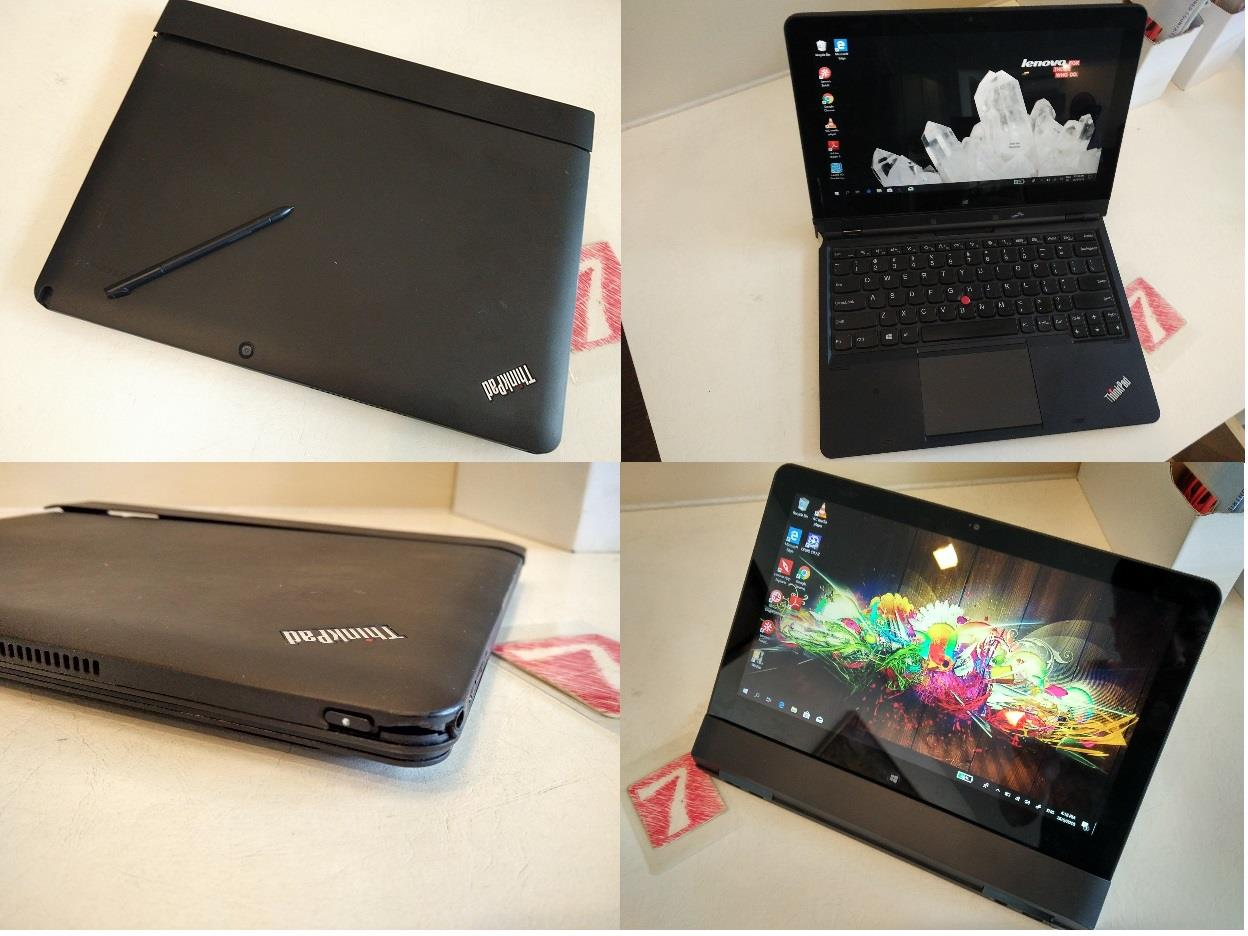 Lenovo Thinkpad Helix i5 3rd SSD 4GB 11.6 Inch Full HD Touch Rm1180