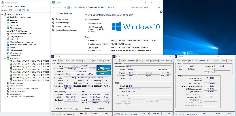 LENOVO THINKPAD T430 _(i7-3612QM/16GB/SSD Limited Stock