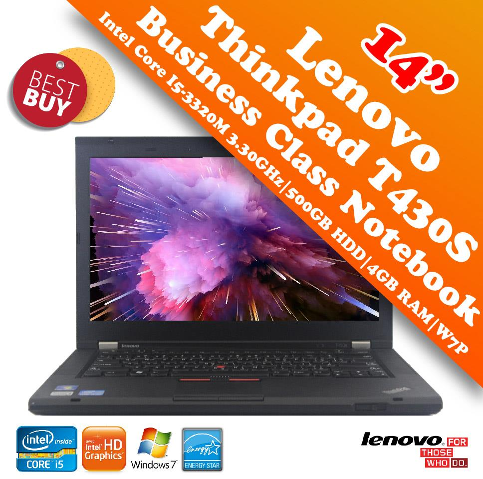 Lenovo Thinkpad T430S Slim i5 Business Class Notebook Special Deal!!