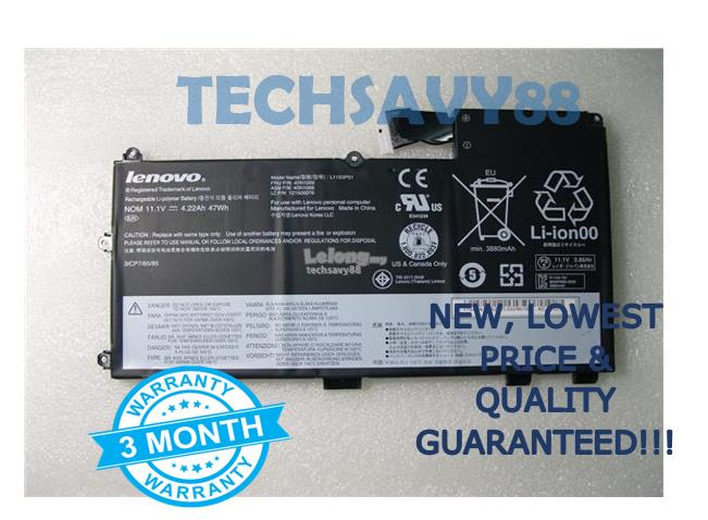 Lenovo ThinkPad T430U L11N3P51 45N1090 45N1089 45N1088 Battery