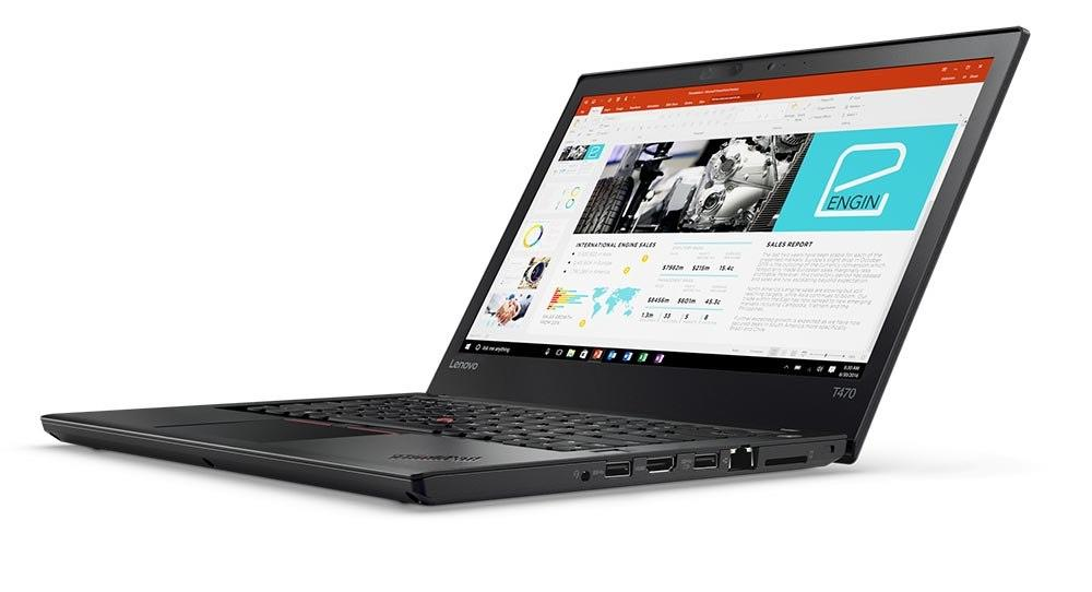 Lenovo ThinkPad T470 Notebook (i7-7500u.8GB.1TB) (20HEA024MY)