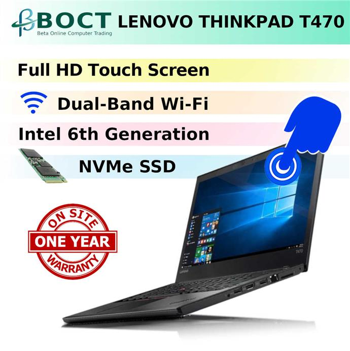 Fin Lenovo ThinkPad T470 / Onsite Warra (end 10/9/2019 11:15 AM) IH-47