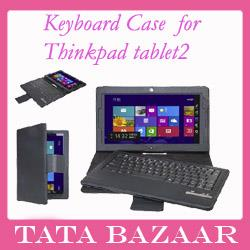 detailed look cdaf1 a30d7 Lenovo ThinkPad Tablet 2 Bluetooth Keyboard Case Cover