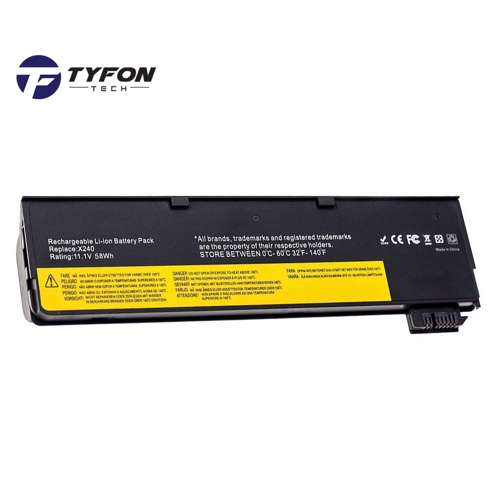 Lenovo Thinkpad X240 X250 T440 T450 L450 W550 Compatible Laptop Batter