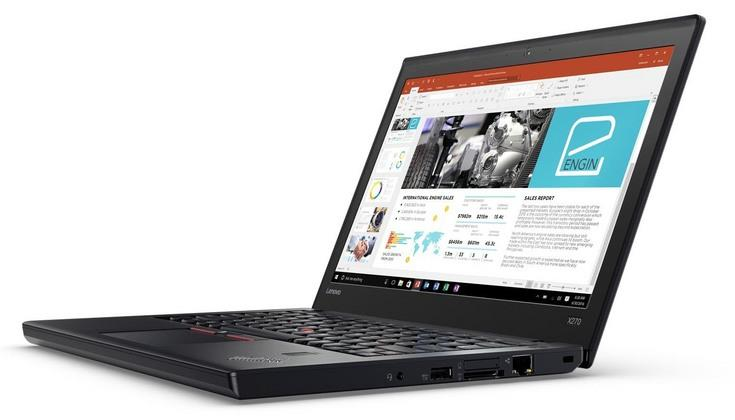 Lenovo ThinkPad X270 Notebook (i5-7200U.8GB.1TB) (20HM0007MY)