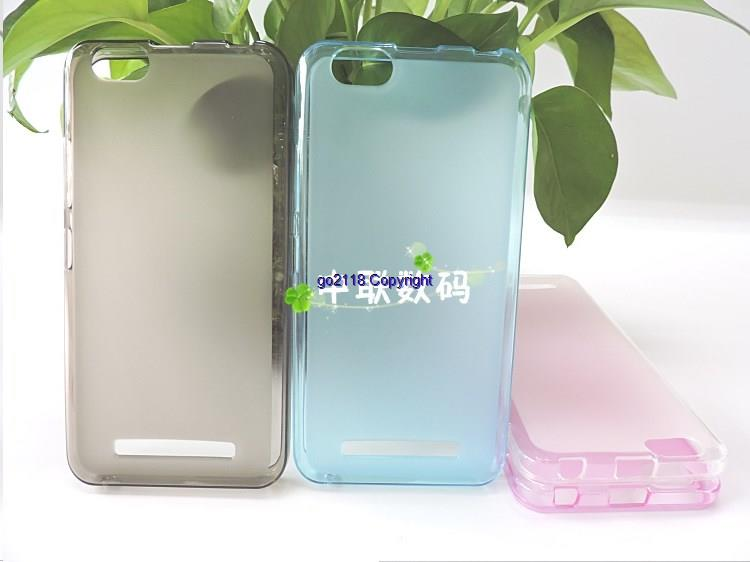Lenovo Vibe C A2020 A3910 Silicone Transparent Soft Back Case Cover