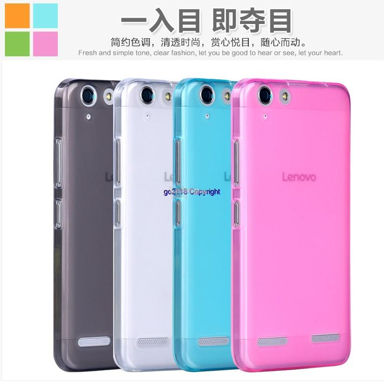online store 95ec9 348da Lenovo Vibe K5 Pudding Transparent Silicone Soft Back Case Cover Casin