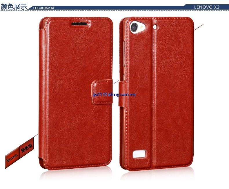 Lenovo Vibe X2 Leather Case Casing Cover Flip Cover