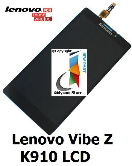 LENOVO Vibe Z K910 LCD With Touch Screen + Free 3M Double Sided Tape