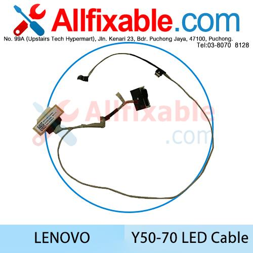 Lenovo Y50-70 with Touch LED LCD Cable