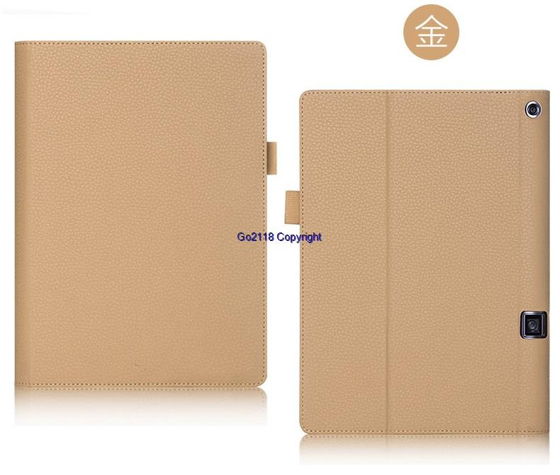 new products 84b4e 4660c Lenovo Yoga Tab 3 Pro Lychee Pattern High Quality Flip Cover Casing