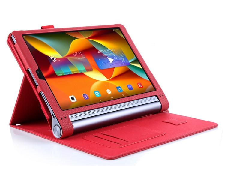 half off a442c d9719 Lenovo YOGA Tab3 Pro 10 YT3-X90F YT3-X90L leather Flip case Cover +SP