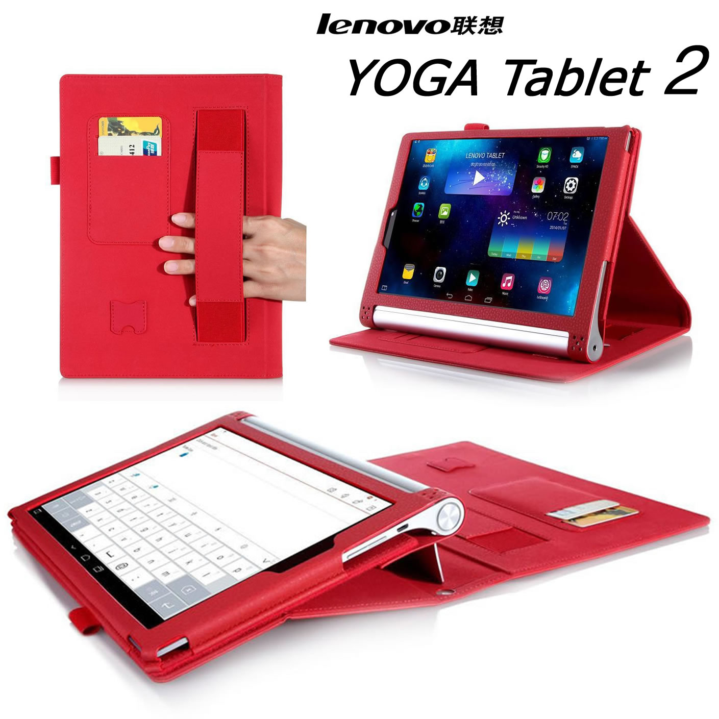 lenovo yoga tablet 2 830F/LC yaga 2 830F leather8 Case Casing Cover