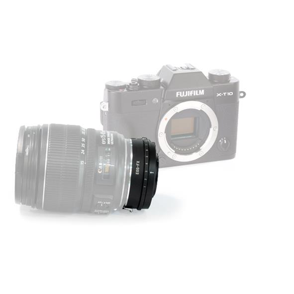 Lens Mount Adapter EF/ EF-S - FX Fuji Manual Focus with Iris Control