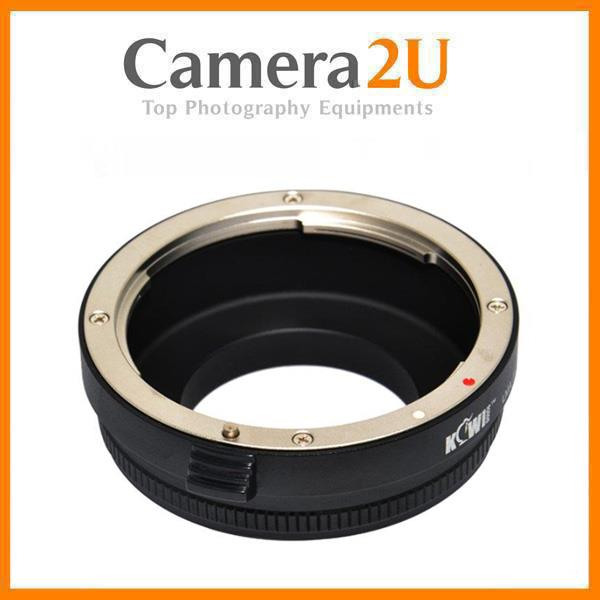 Lens Mount Adapter for Nikon lens on Samsung NX mount camera