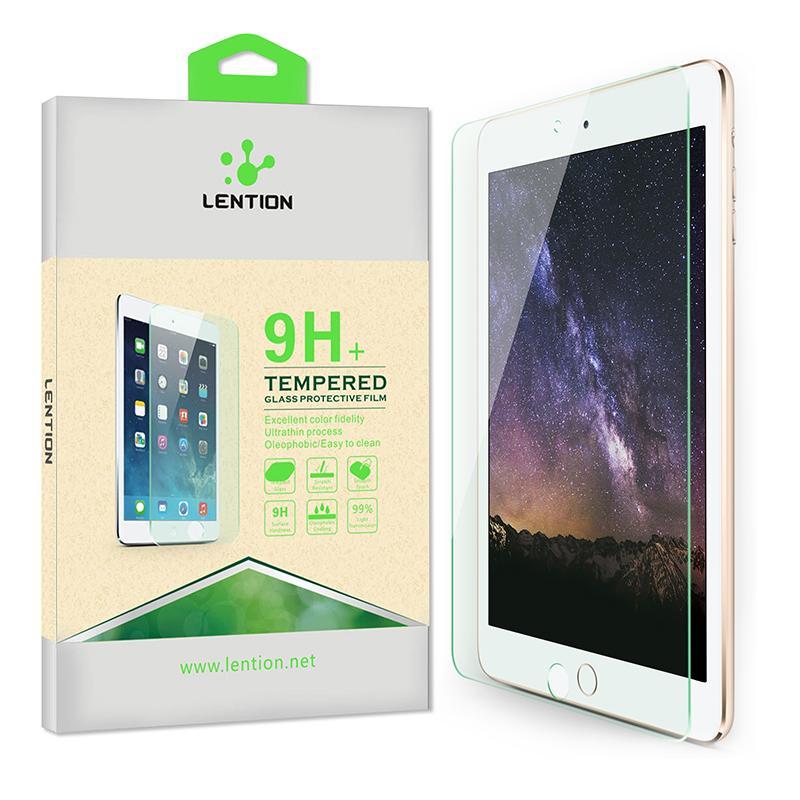LENTION Tempered Glass for iPad Mini 1 / iPad Mini 2 / iPad Mini 3.