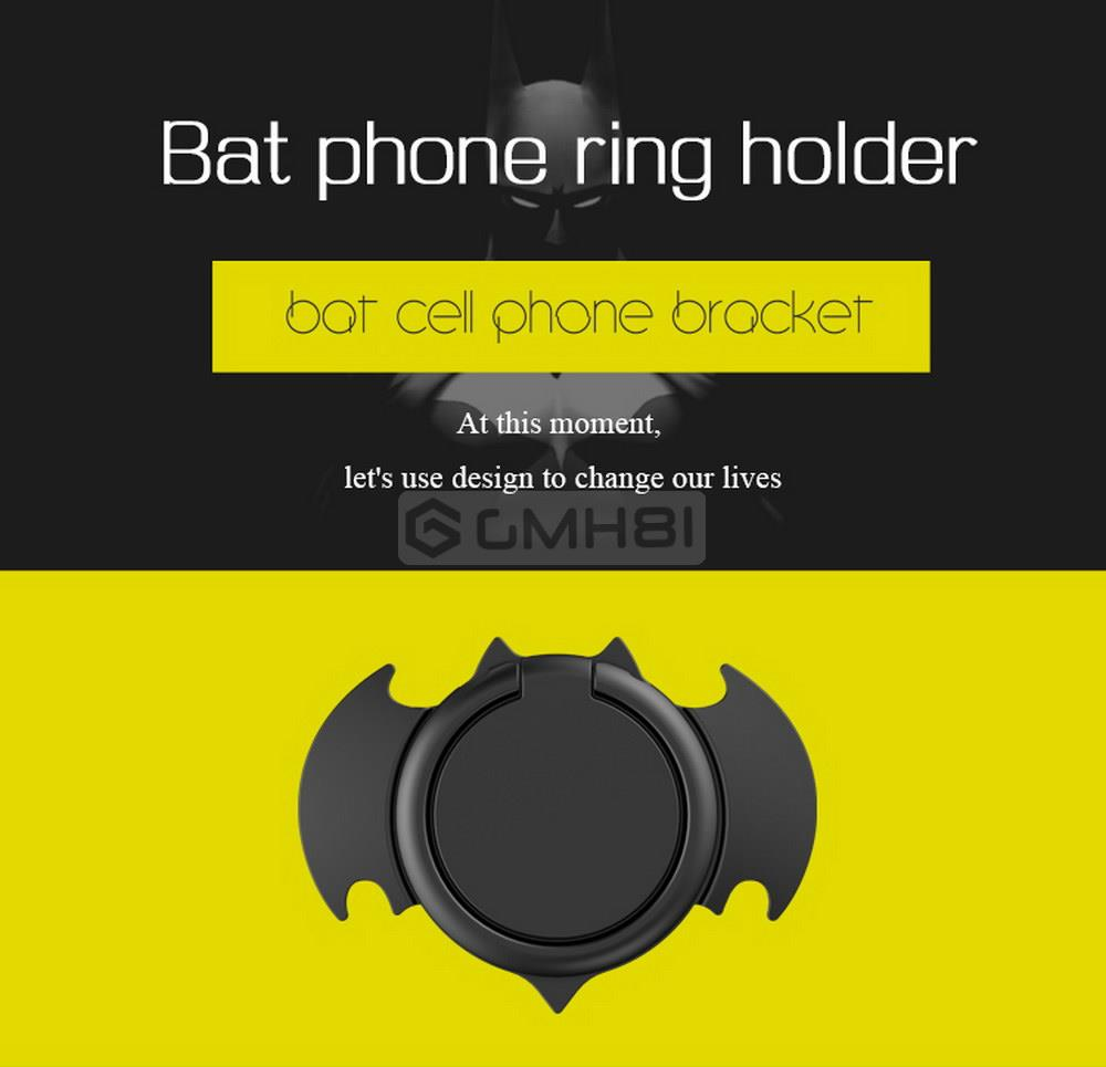 Lenuo Bat 360 Metal Finger Ring iRing Phone Bracket Holder Mount DL-26. ‹ ›