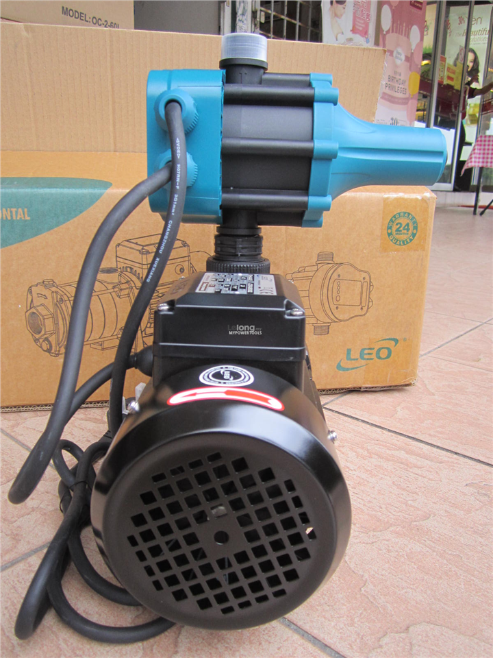 Leo 0.55kW (0.75HP) PC Horizontal Multi-Stage Water Booster Pump