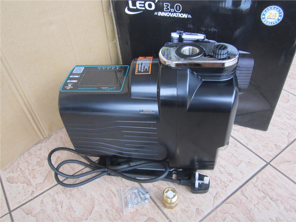 Leo MAC 550 Variable Speed Intelligent Silent Booster Pump