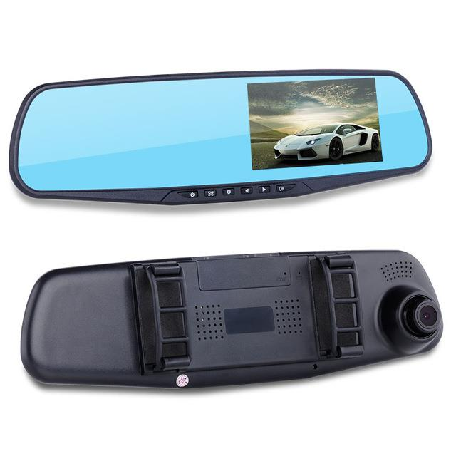 LEON 4.3' Rear View Blue Mirror Full HD Car DVR
