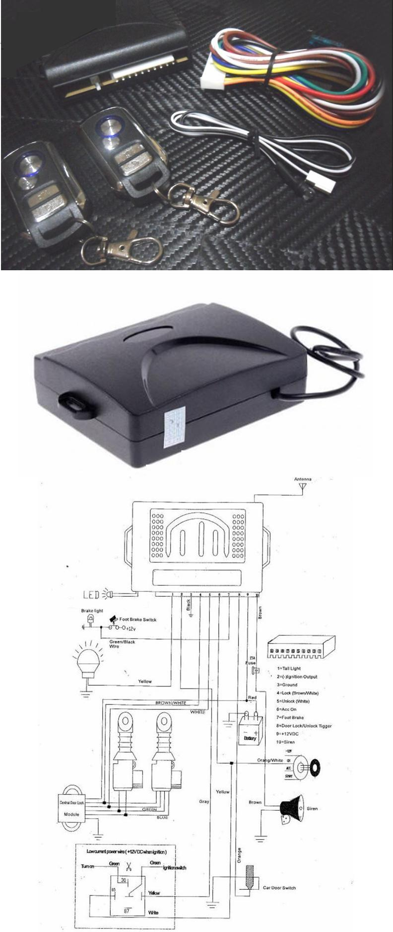 Modern 3 Wire Car Alarms Picture Collection - Electrical System ...
