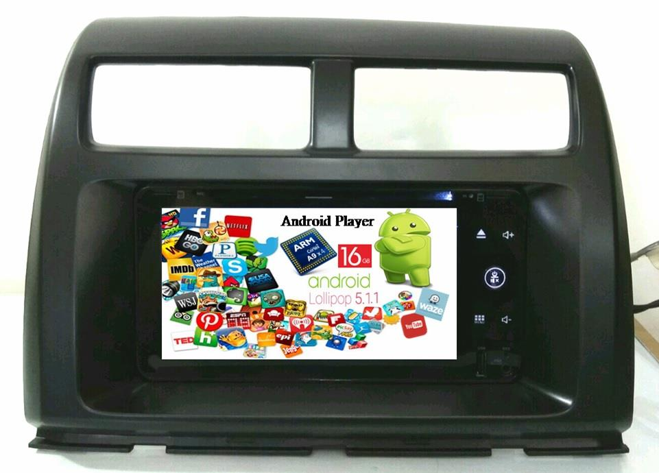 LEON MYVI ICON Android 5.1 Wifi 16G DVD GPS USB Player 2015