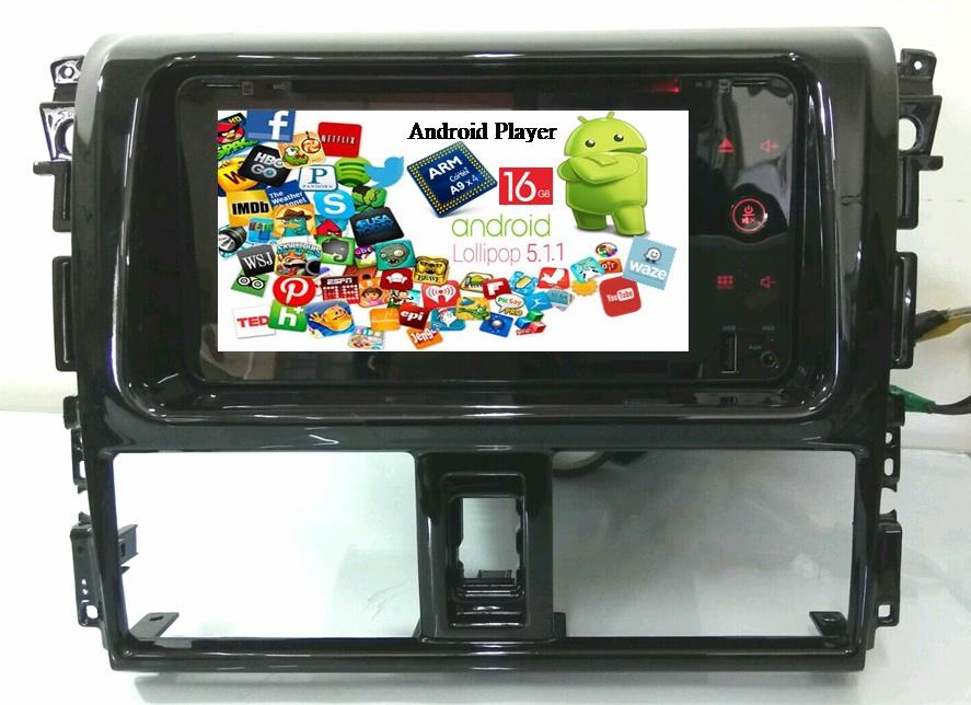 LEON Vios Android 5.1 Wifi 16G DVD GPS USB Player 2013