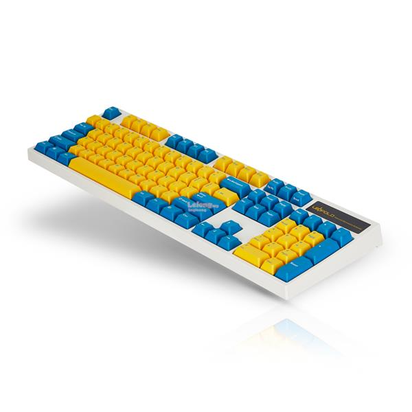 # LEOPOLD FC900 Yellow+Blue Model Full Size Mechanical Keyboard #