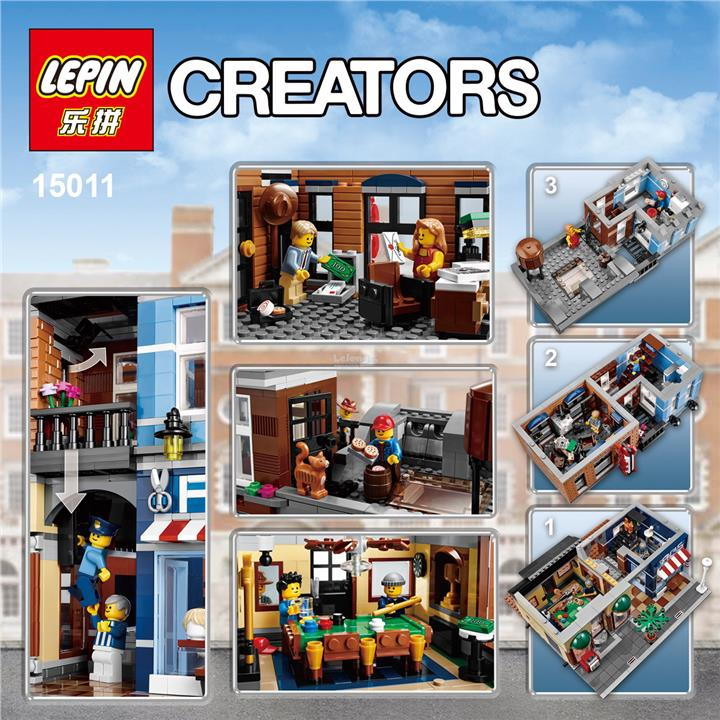 LEPIN 15011 Detective Office