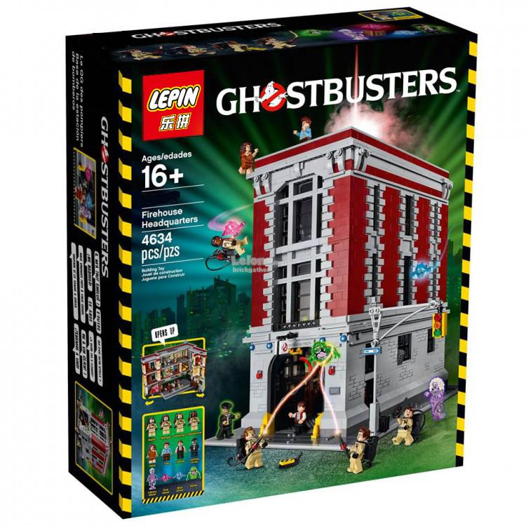 LEPIN Movie Ghostbuster Firehouse Headquarters 16001