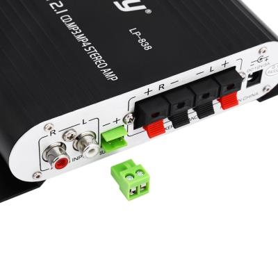 Lepy LP - 838 Car Channel Amplifier Stereo Subwoofer Audio Accessory