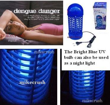 Lets Keep Safe: Powerful Electric Mosquito, Fly & Bug Pest  Zapper!
