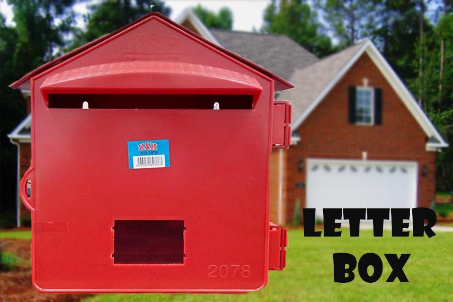 Strange Letter Box Pvc Mailbox Pos Red For Home Office School Download Free Architecture Designs Lectubocepmadebymaigaardcom