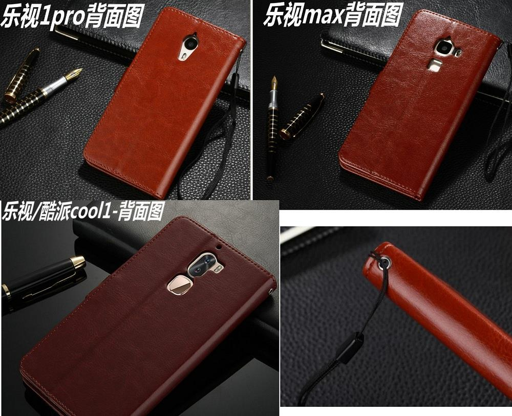 Letv 1s 2/2pro S3 max max2 1pro cool1 casing flip cover card slots