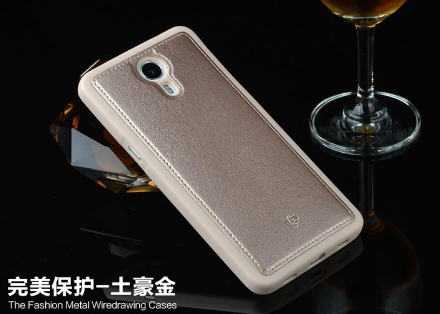 LeTV Le 1 X600 Leather + TPU Soft Back Case Cover Casing +Free Gift