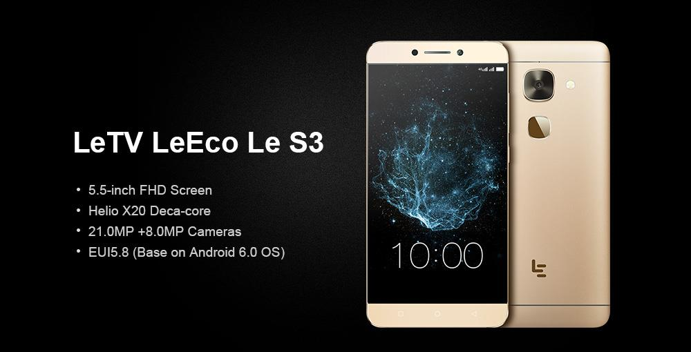 LETV LeEco Le S3(4GB RAM + 32GB/64GB ROM)BEST BANG FOR YOUR BUCK