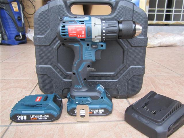 Lever 20V Brushless High Torque Cordless Impact Drill Driver