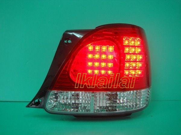 LEXUS GS300 Red/Clear or Black Housing LED Tail Lamp