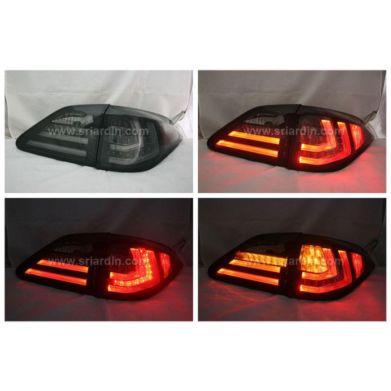 Lexus RX270 / 350 09-15 Smoke Light Bar LED Tail Lamp
