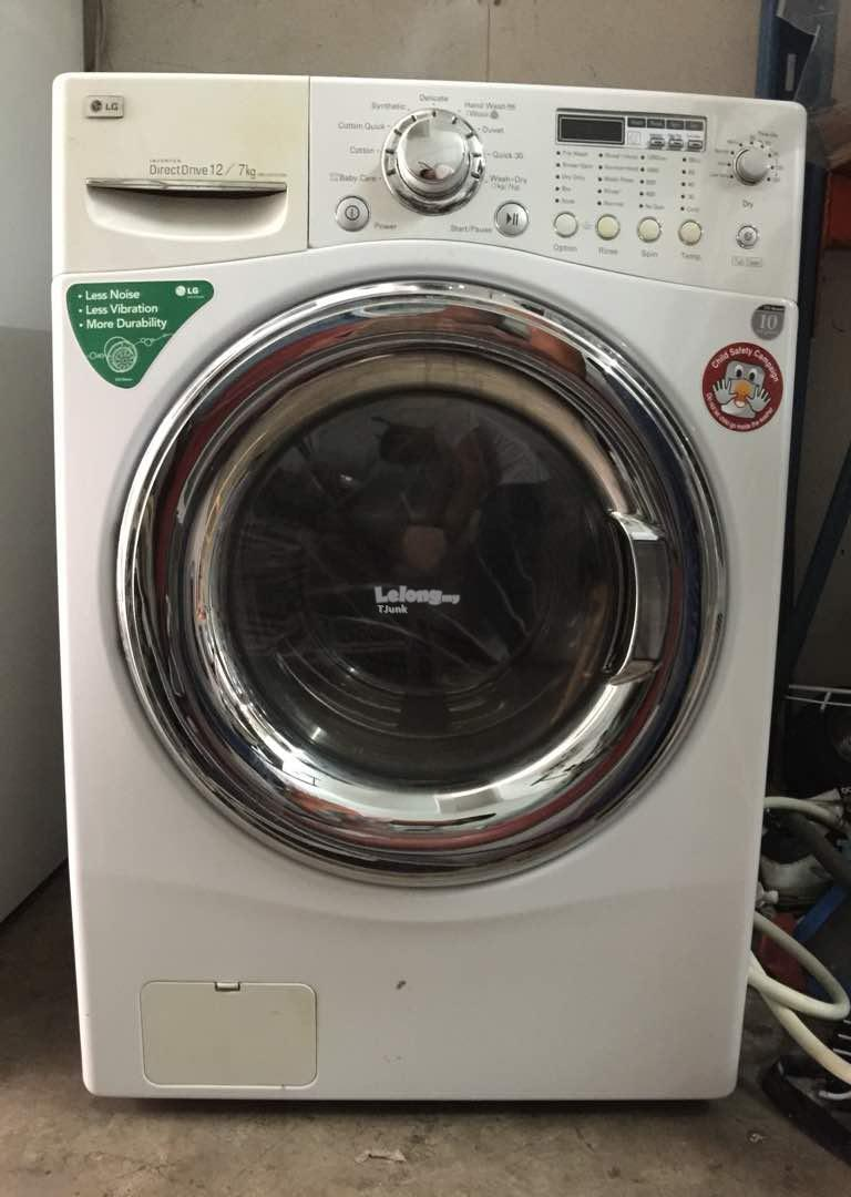 Lg 12kg Washer Dryer 2 In 1 Combo W End 11 28 2017 5 48 Pm