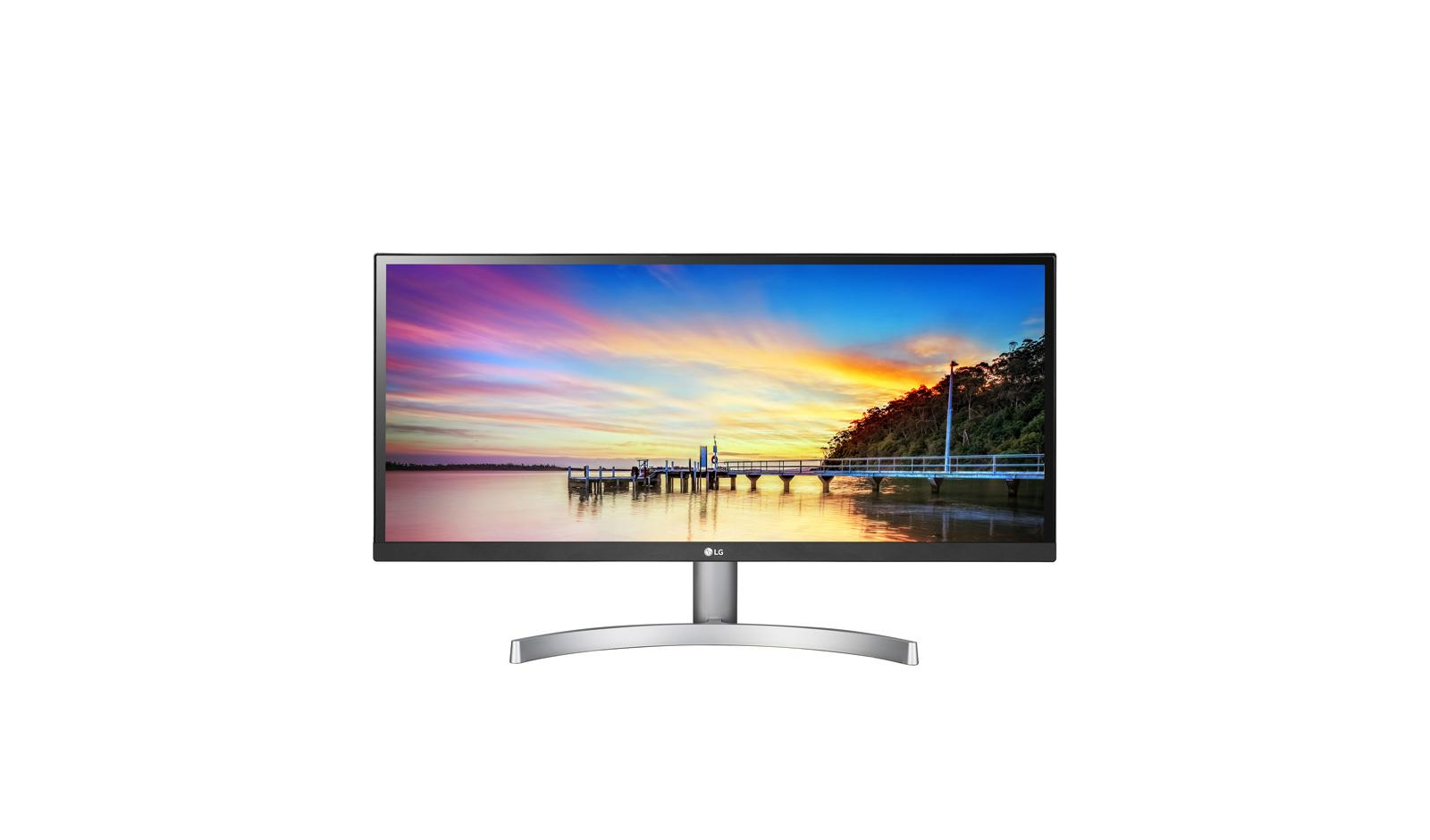 LG 29WK600-W 29'  UltraWide Full HD IPS LED Monitor with HDR 10