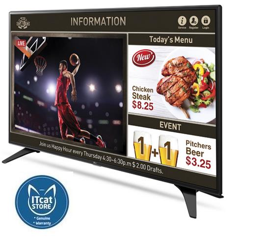 NEW LG 43' SUPERSIGN LFD CLASS FULL HD DIRECT LED /16HOURS (43LW540S)
