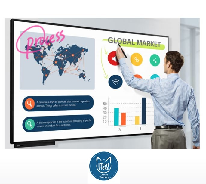 NEW LG 86' IN-CELL MULTI TOUCH INTERACTIVE DIGITAL DISPLAY (86TN3F)