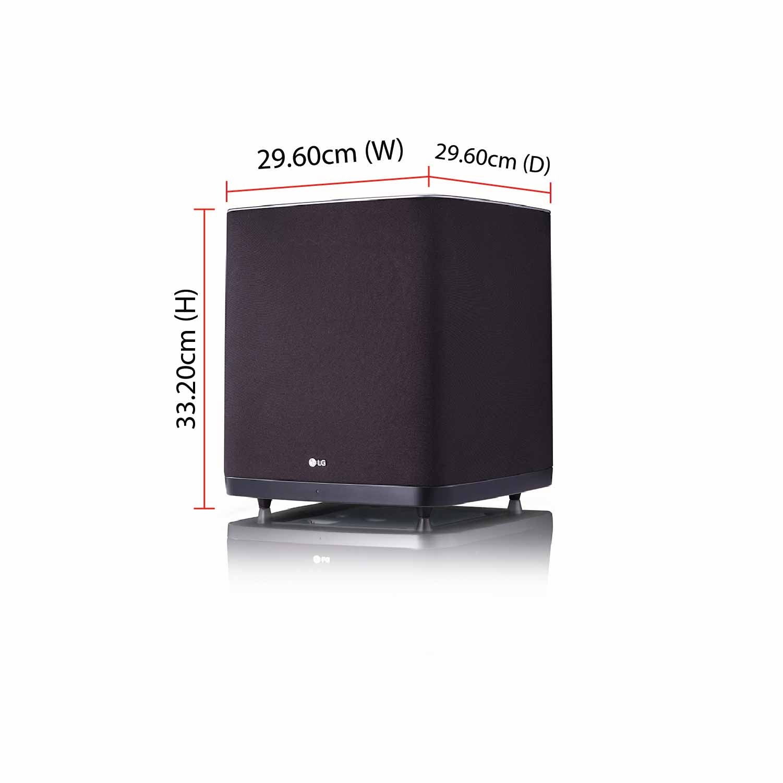 Lg Dolby Atmos Soundbar With Wireless Subwoofer Sj9 500w 5 1 2 Ch