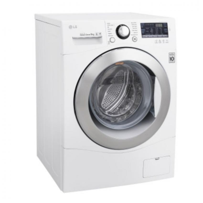 lg f1409nprw inverter front load washer 9kg direct drive true steam