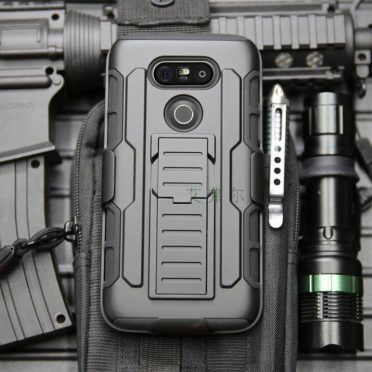 LG G5 H830 f700 H868 PC+TPU Armor Belt Case Cover Casing
