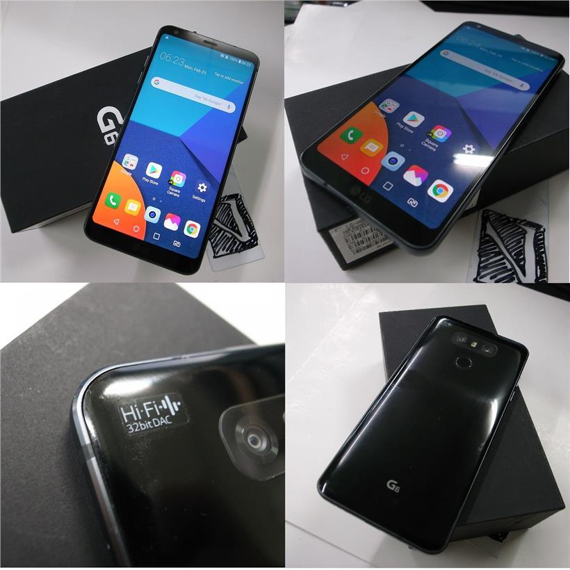 LG G6 4G/64GB SD821 DAP HiFi Audio 5 7 Inch Phone Rm630