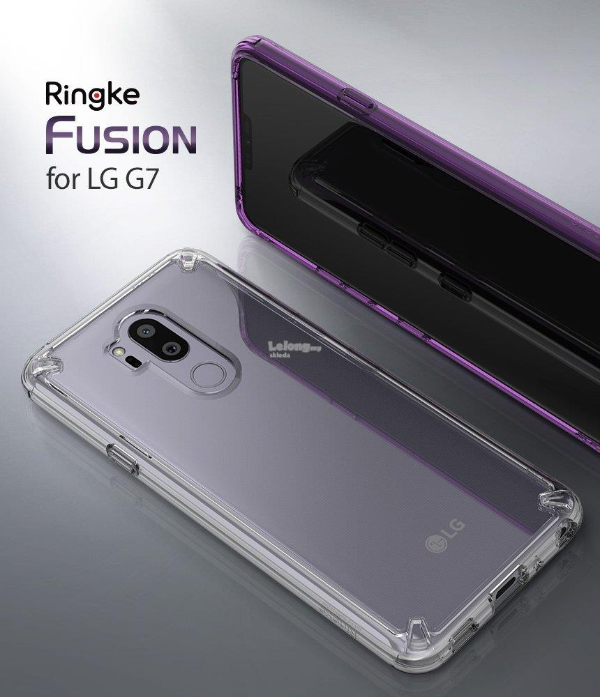 LG G7 / G7 ThinQ Case - Ringke Fusion Case