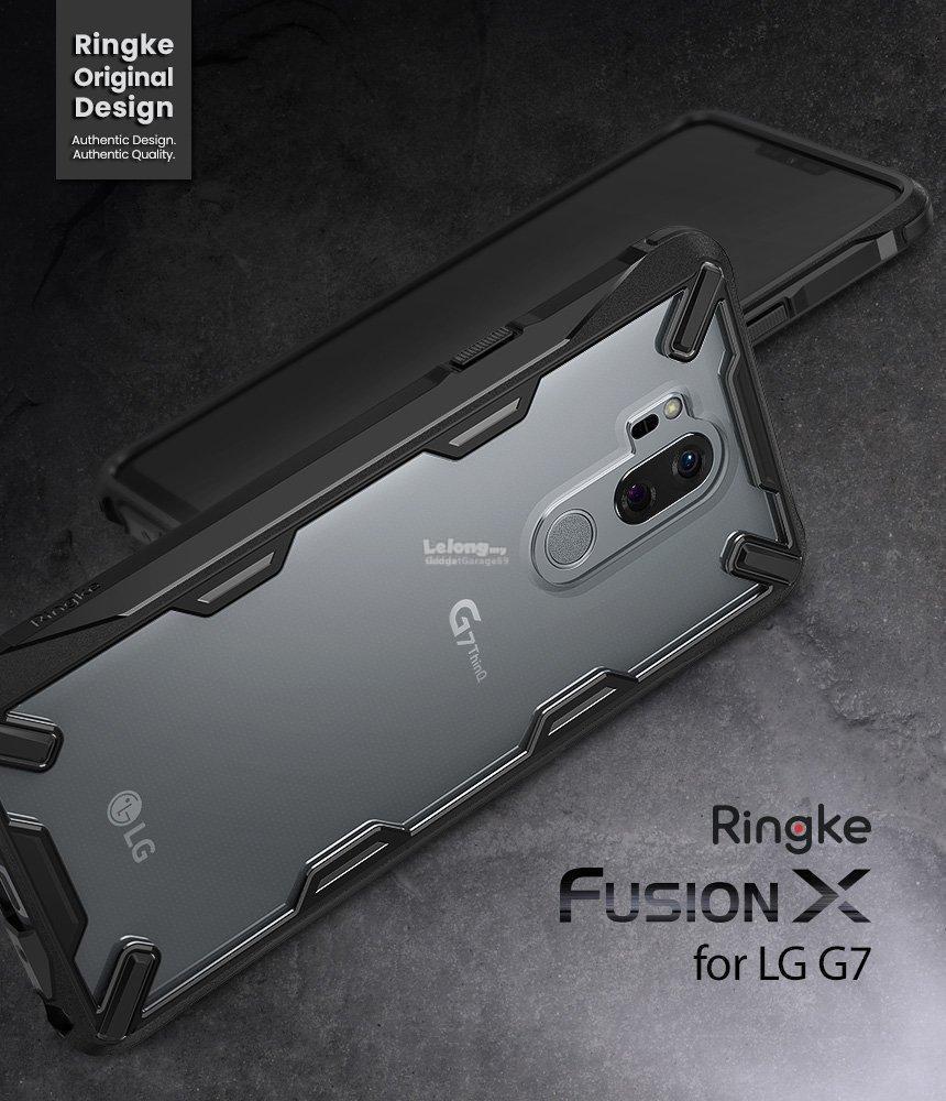 LG G7 / G7 ThinQ - Ringke Fusion X / Fusion / Onyx / Air Case