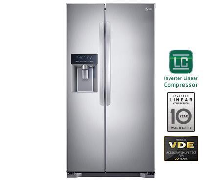 lg refrigerator with ice maker. lg gc-l207glxv refrigerator with water dispenser with auto ice maker lg ice maker t